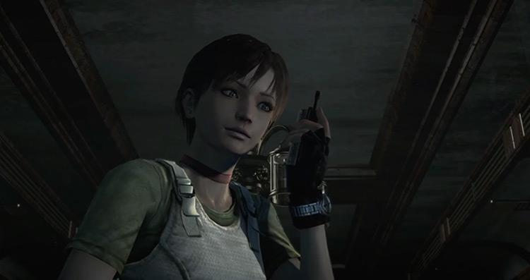 Rebecca Chambers Resident Evil Zero screenshot