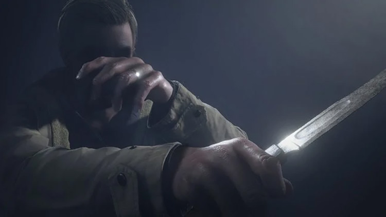 Ethan Winters Resident Evil Village screenshot