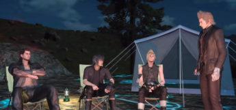 FFXV Party Camping Screenshot