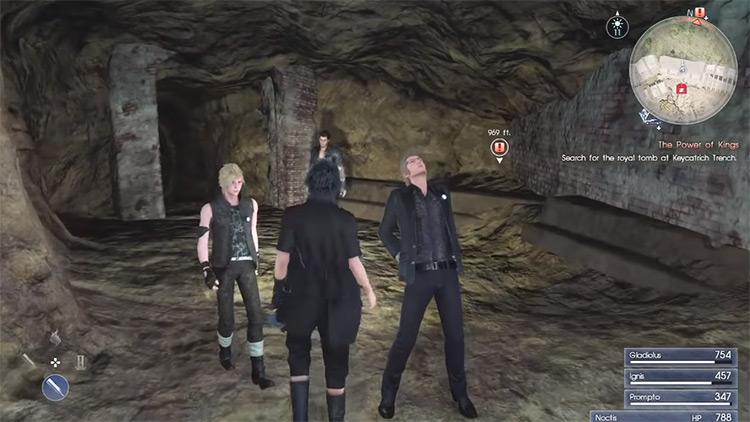 FFXV Party gang screenshot