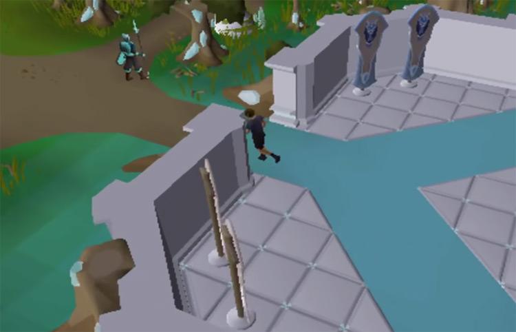 Running character to Xeric / OSRS Screenshot