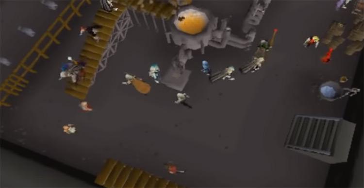 Blast Furnace Overhead Screenshot from OSRS