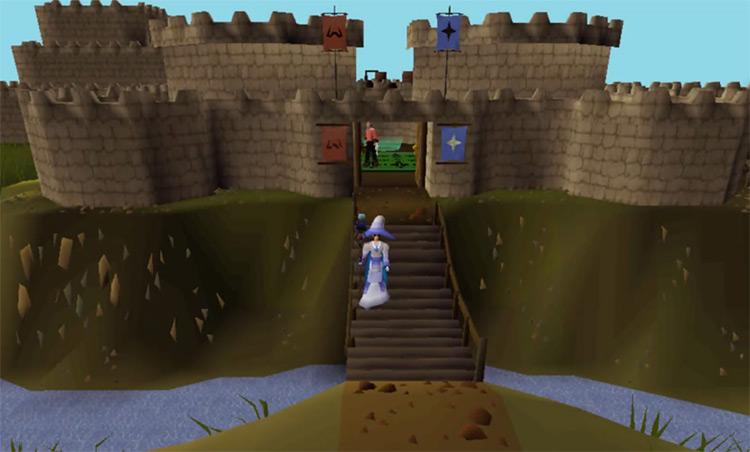 Castle Wars Minigame Exterior Castle Screenshot / OSRS