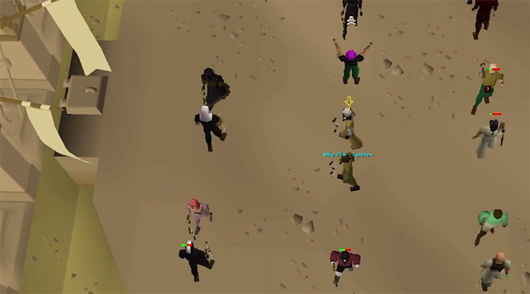 Duel Arena Screenshot from OSRS