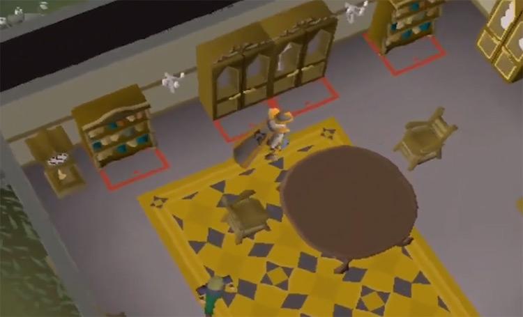 Mahogany Homes Construction Minigame / OSRS Screenshot