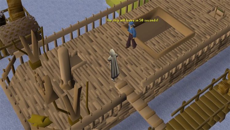 Fishing Trawler Minigame preview in OSRS