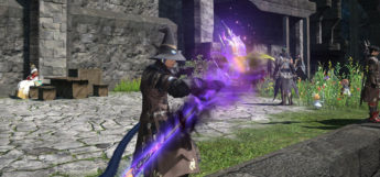Anima rod weapon in FFXIV HD
