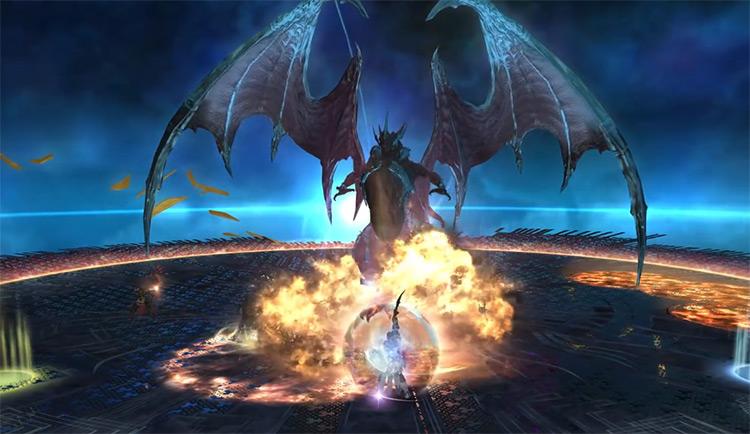 T13 battle in Final Fantasy XIV