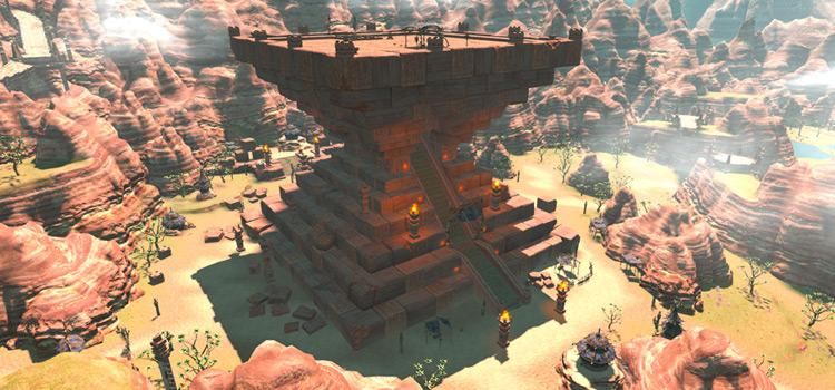 The Ziggurat screenshot from Final Fantasy XIV