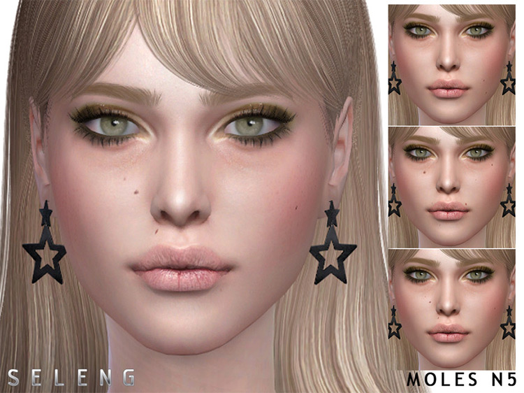 Moles N5 Set for The Sims 4