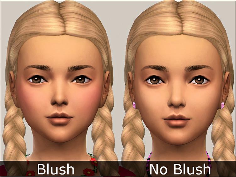 Shy Blush Sims 4 CC