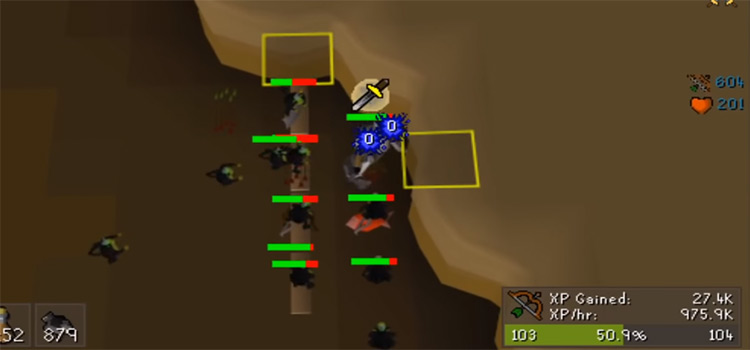 Chinning Maniacal Monkeys in OSRS