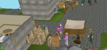 Players in city in Twisted League / OSRS