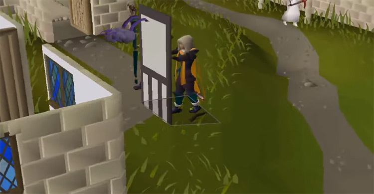 Construction Skillcape building screenshot in OSRS