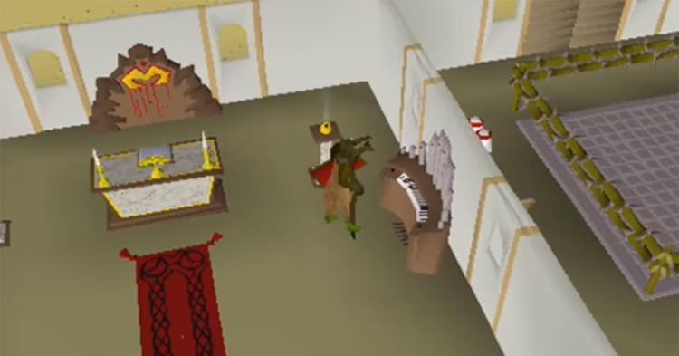 Gilded Altar prayer screenshot in OSRS