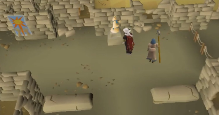 Elidinis Statuette Altar in OSRS