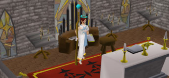 Holy Priest Fashionscape Design in OSRS
