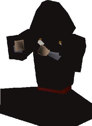Dark Mage sitting render in OSRS