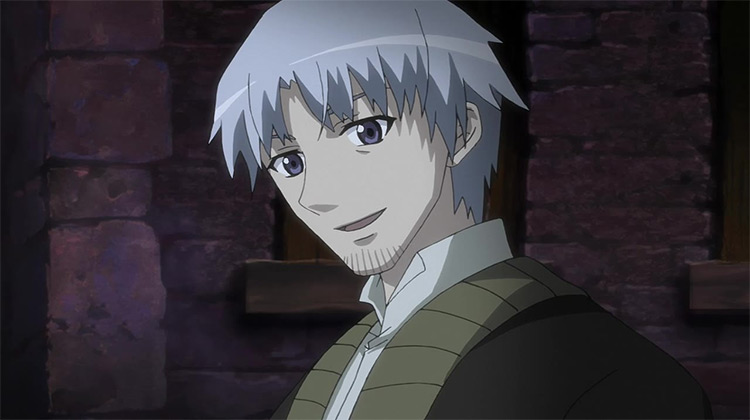 Kraft Lawrence from Spice and Wolf anime