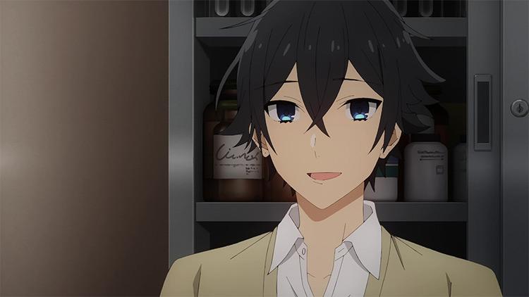 Izumi Miyamura Horimiya anime screenshot