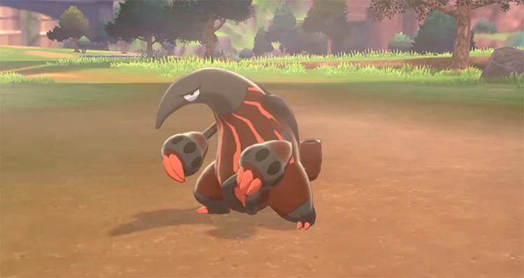 Shiny Heatmor from Pokémon SWSH