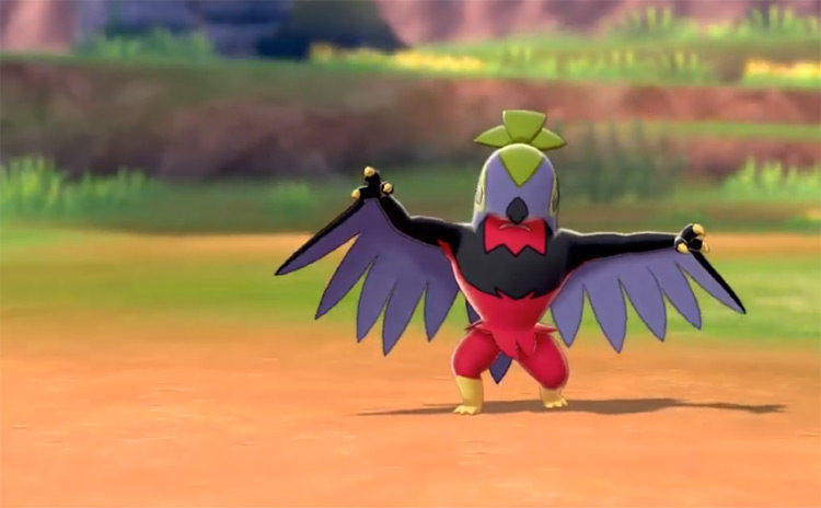 Shiny Hawlucha from Pokémon SWSH