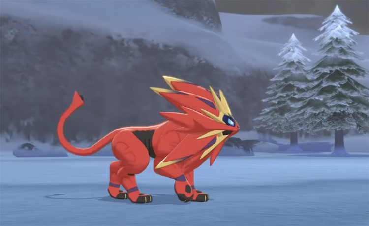 Shiny Solgaleo from Pokémon SWSH