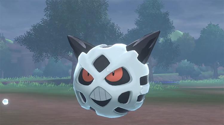 Shiny Glalie in Pokémon Sword and Shield