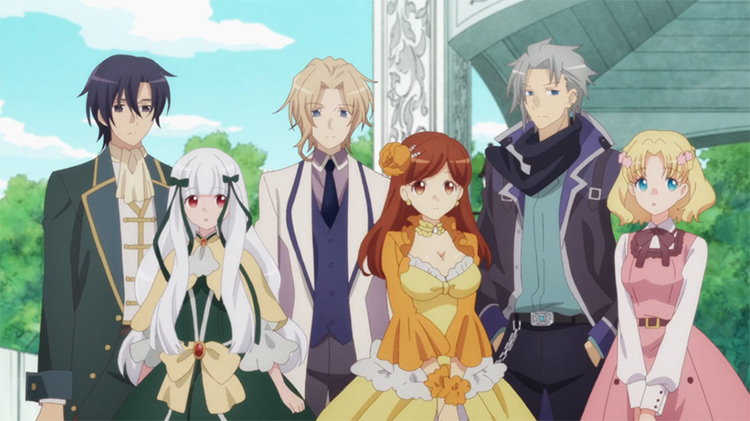 Hamefura, I Reincarnated into an Otome Game as a Villainess With Only Destruction Flags… anime screenshot