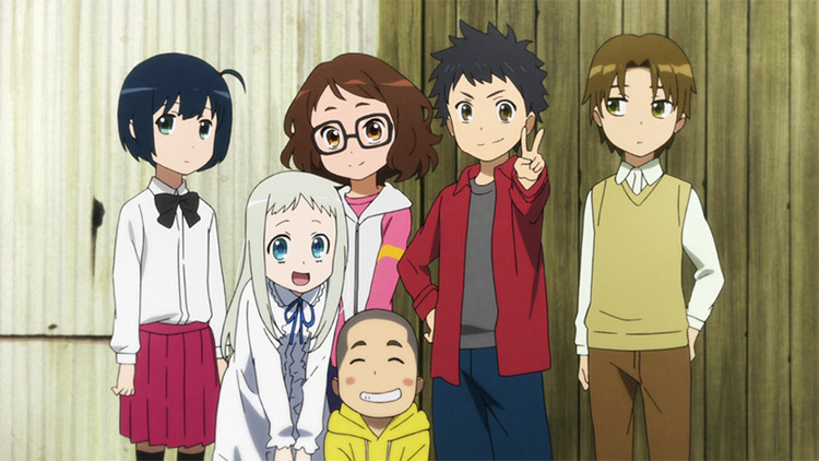 AnoHana, We Still Don't Know the Name of the Flower We Saw That Day. anime screenshot