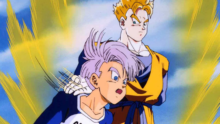 Dragon Ball Z: Resist Despair!! The Surviving Fighters - Gohan and Trunks anime
