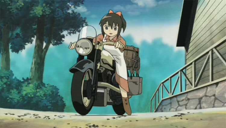 Kino no Tabi: the Beautiful World - Life Goes On, Kino's Journey Movie anime screenshot