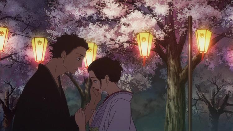 Showa and Genroku Era Lover's Suicide Through Rakugo 2nd Season anime screenshot