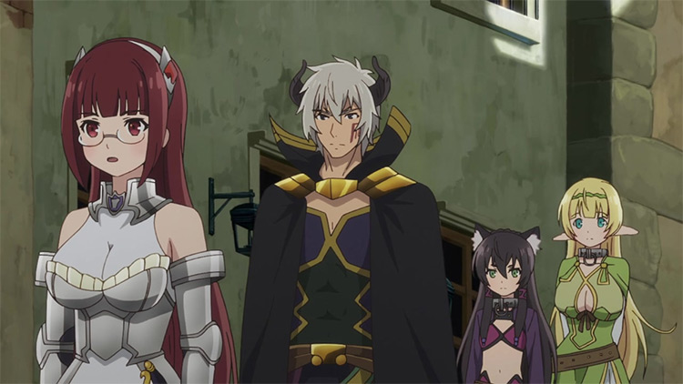 The Otherworldly Demon King and the Summoner Girls' Slave Magic anime