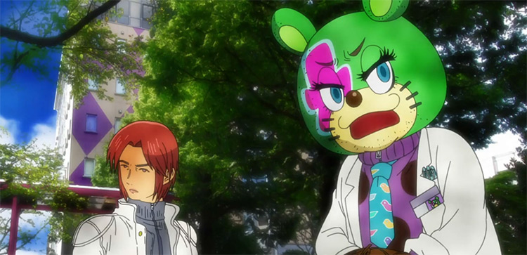 Kuuchuu Buranko anime