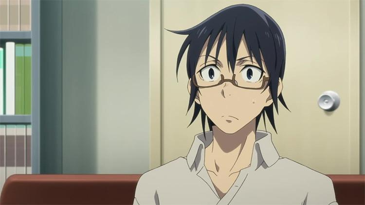 Satoru Fujinuma ERASED anime screenshot