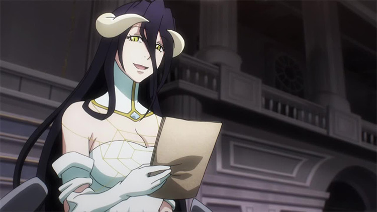 Albedo from Overlord anime