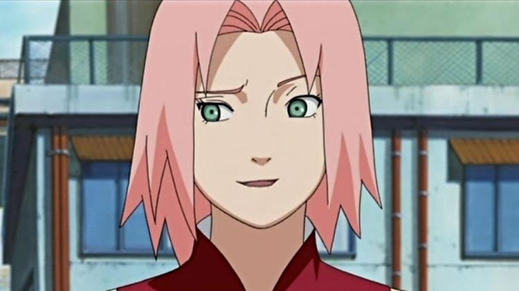 Sakura from Naruto anime