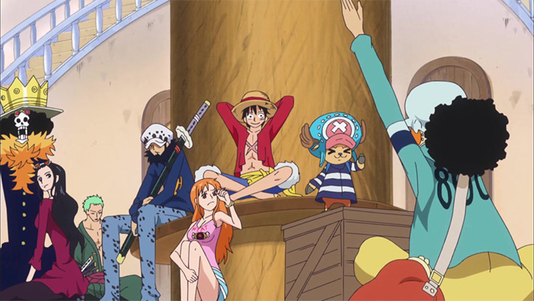 One Piece characters / anime screenshot