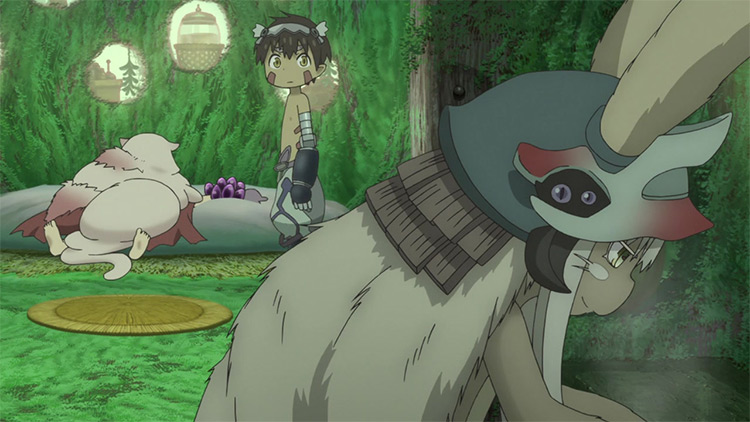 Made in Abyss anime screenshot