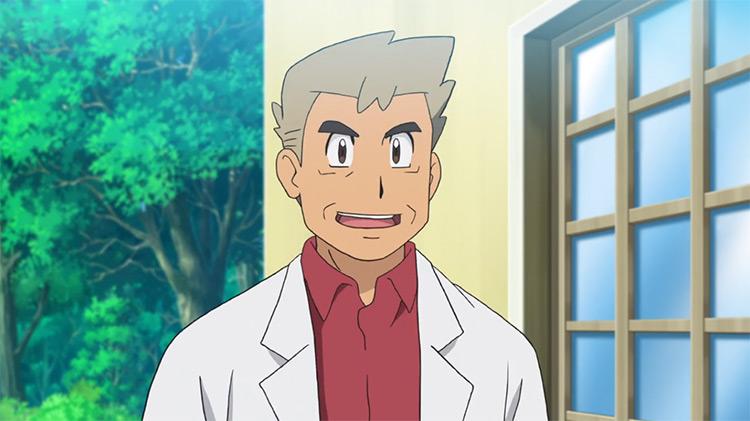 Professor Oak from Pokémon anime