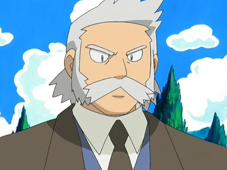 Professor Rowan from Pokémon anime