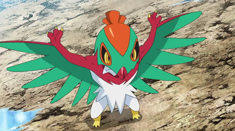 Hawlucha from Pokemon anime