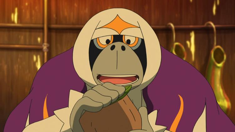 Oranguru Pokemon in the anime