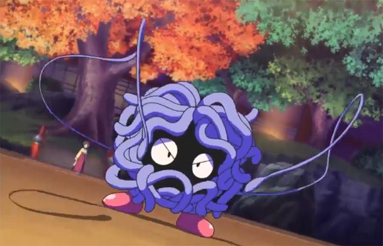 Tangela Pokemon in the anime