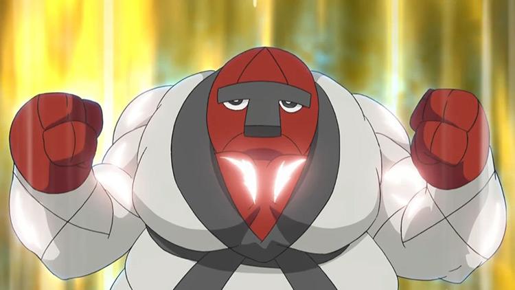 Throh from Pokemon anime