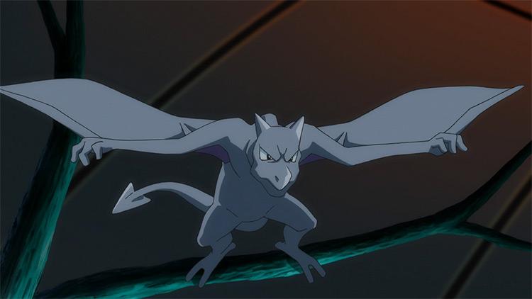 Aerodactyl Pokemon anime screenshot