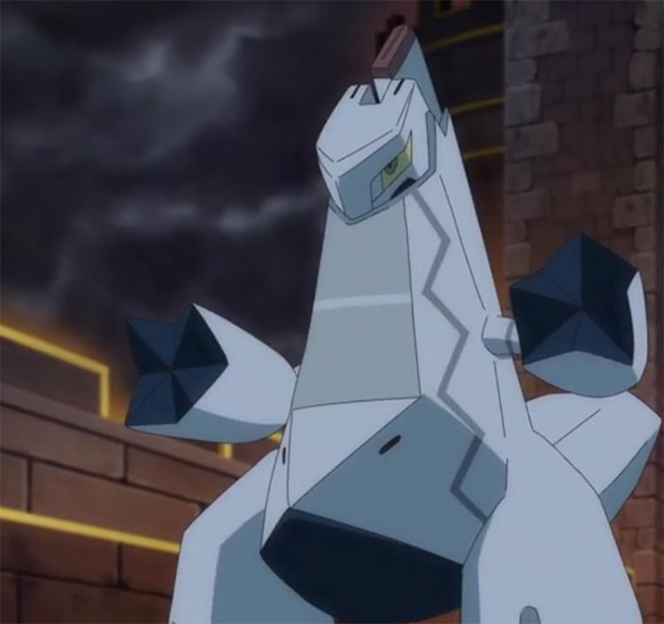 Duraludon Pokemon anime screenshot
