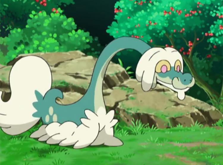 Drampa Pokemon anime screenshot