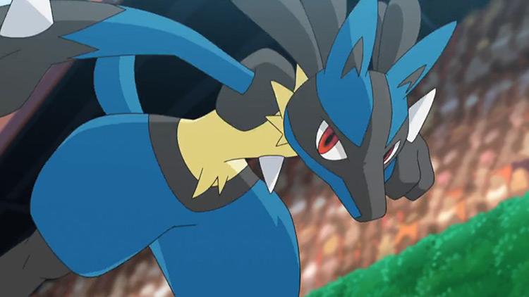Lucario Pokemon in the anime